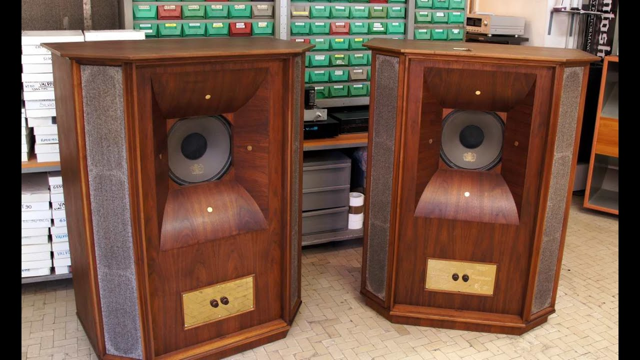 Tannoy Westminster Test