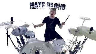 LUCKY YOU - Eminem (DRUM COVER) - Nate Blond