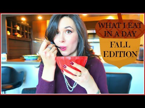 WHAT I EAT IN A DAY  FALL MEAL PREP