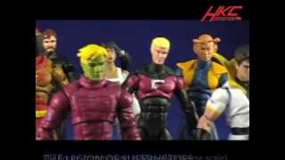 Custom legion of superheroes in marvel universe scale 12 ACTION FIGURES by HKC
