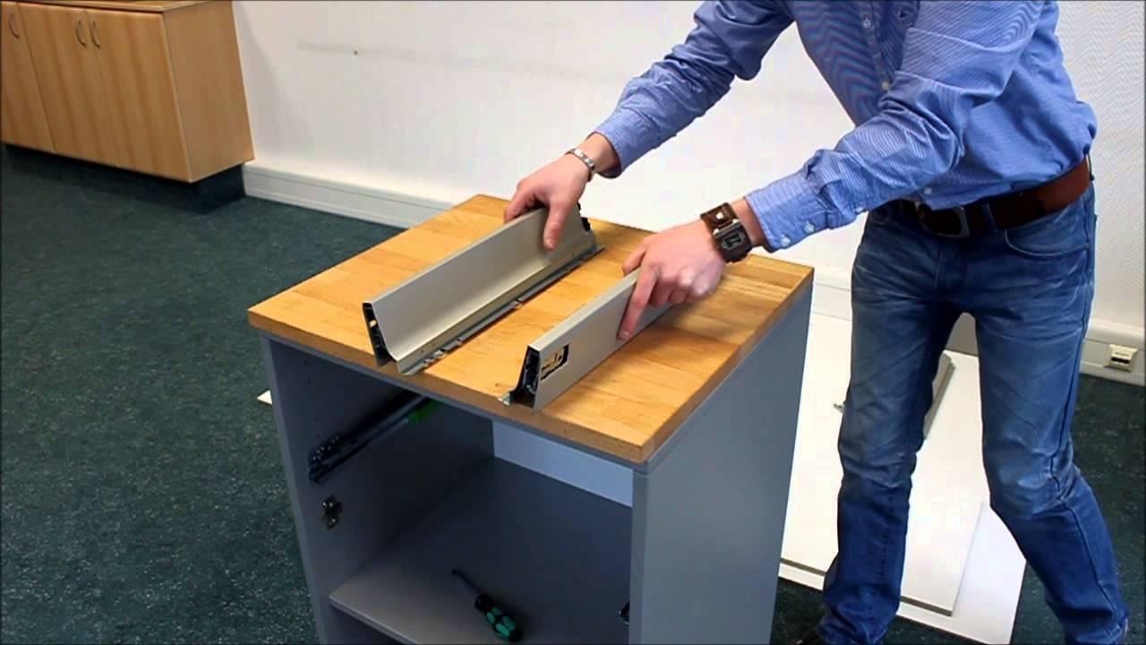 Montage einer Werkbank - Garagenmoebel.de - YouTube