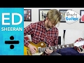 How Would You Feel Guitar SOLO Tutorial - Ed Sheeran