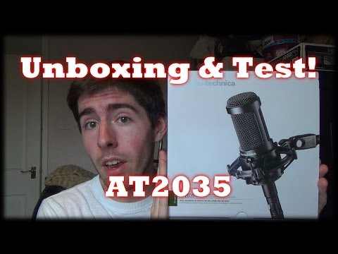 Unboxing & Test: AT2035 VS Zoom H1, Laptop & Camera Audio!