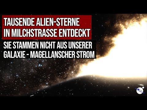 Tausende Alien-Sterne in Milchstrasse entdeckt - Sie stammen nicht aus unserer Galaxie