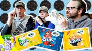 NEW Oreo Flavors Taste Test | Cherry Cola Oreos ?? | My Oreo Creation