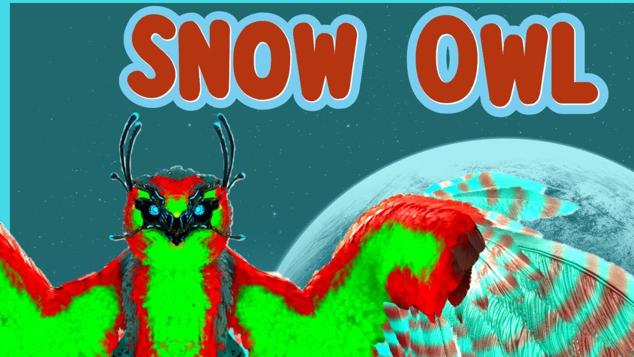 Ark | How to Spawn the Snow Owl w/ Admin Commands