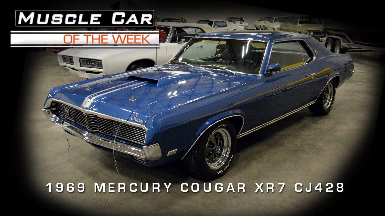 Muscle Car Of The Week Video 37 1969 Mercury Cougar Xr7