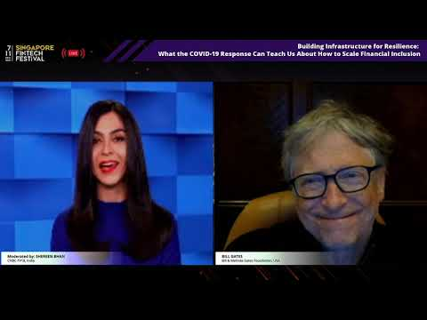 Building Infrastructure For Resilience:  A Fireside Chat With Bill Gates | SFF 2020
