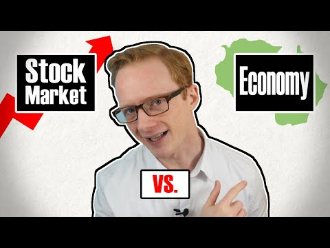 The Difference Between The Stock Market and The Economy