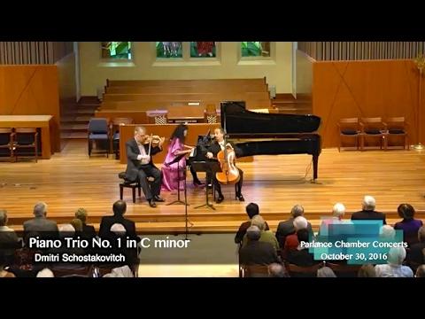 Wu Han, David Finckel, Philip Setzer Trio: Shostakovich Trio in C minor, Op. 8