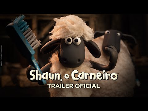 Trailer do filme Shaun, o carneiro