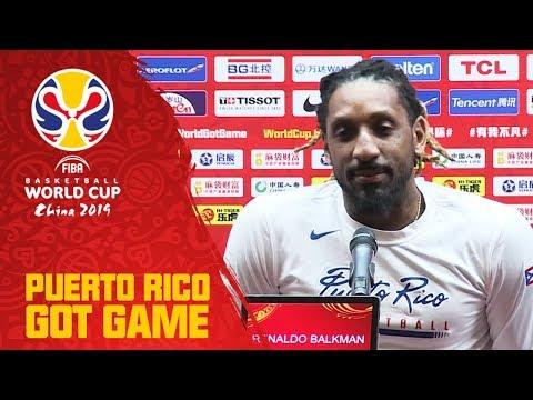 Puerto Rico - Pre-Press Conference - FIBA Basketball World Cup 2019