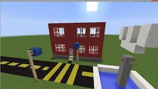 видео как построить город в minecraft