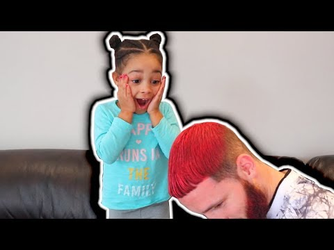PINK HAIR PRANK ON CALI