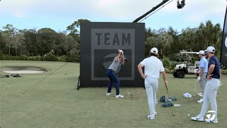 Team TaylorMade FLOP WALL Challenge | TaylorMade Golf