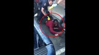 DROGA SINTÉTICA le convierte en ZOMBIE y intenta morder a 2 policías!! |2017|
