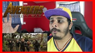 Marvel Studios' Avengers: Infinity War Official Trailer REACTION!!!