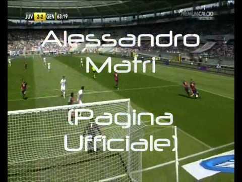 Alessandro Matri segna il goal del pareggio con il Genoa