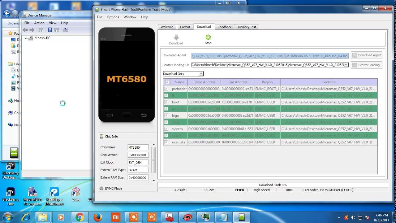 Download Micromax E352 Flash File - Micromax E352 Stock