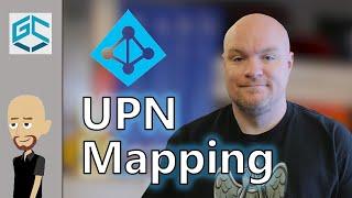 اسم المستخدم الأساسي (UPN) رسم في السلطة BI