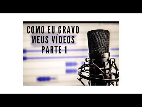 Como Eu Gravo Meus Vídeos  1 - Colocando a música no Metrônomo