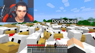 I got trolled with a MORPH MOD by a Streamer in Minecraft...