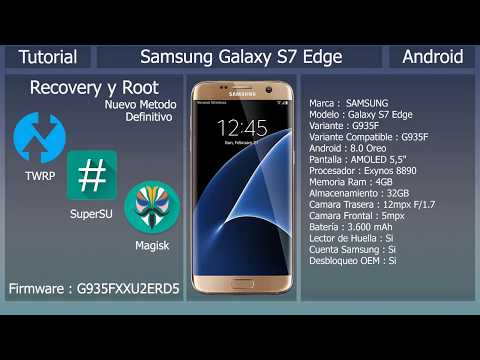 Recovery y Root - Android 8 0 Oreo - Samsung Galaxy S7 Edge G935F