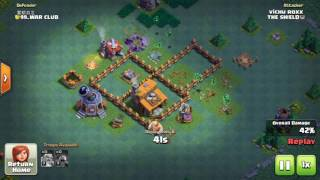 power of beta minions in clash of clans builder base