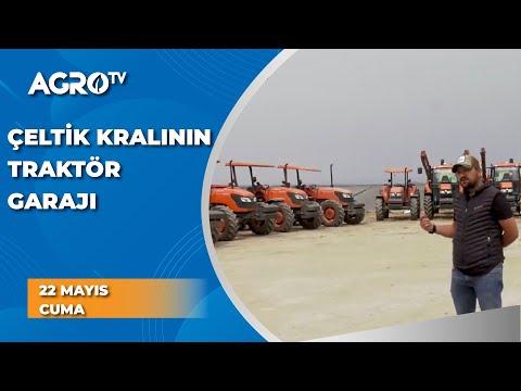 14000 Dekarda Çeltik Üreten Çiftçinin Traktör Garajı / Agro TV