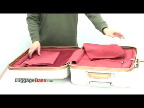 Delsey Chatelet 2 Piece Spinner Trolley Luggage Set