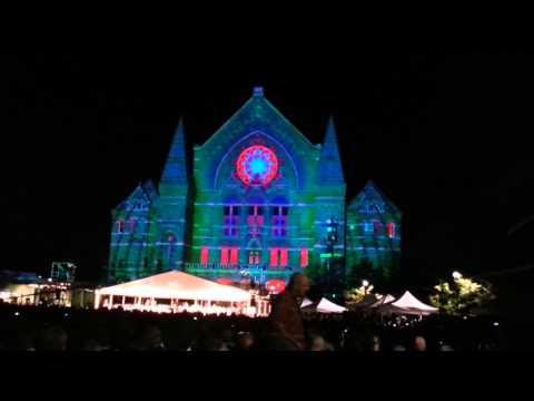 LumenoCity light show & concert, Cincinnati