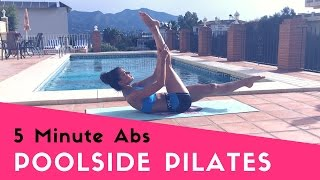 5 Min Abs | Poolside Pilates