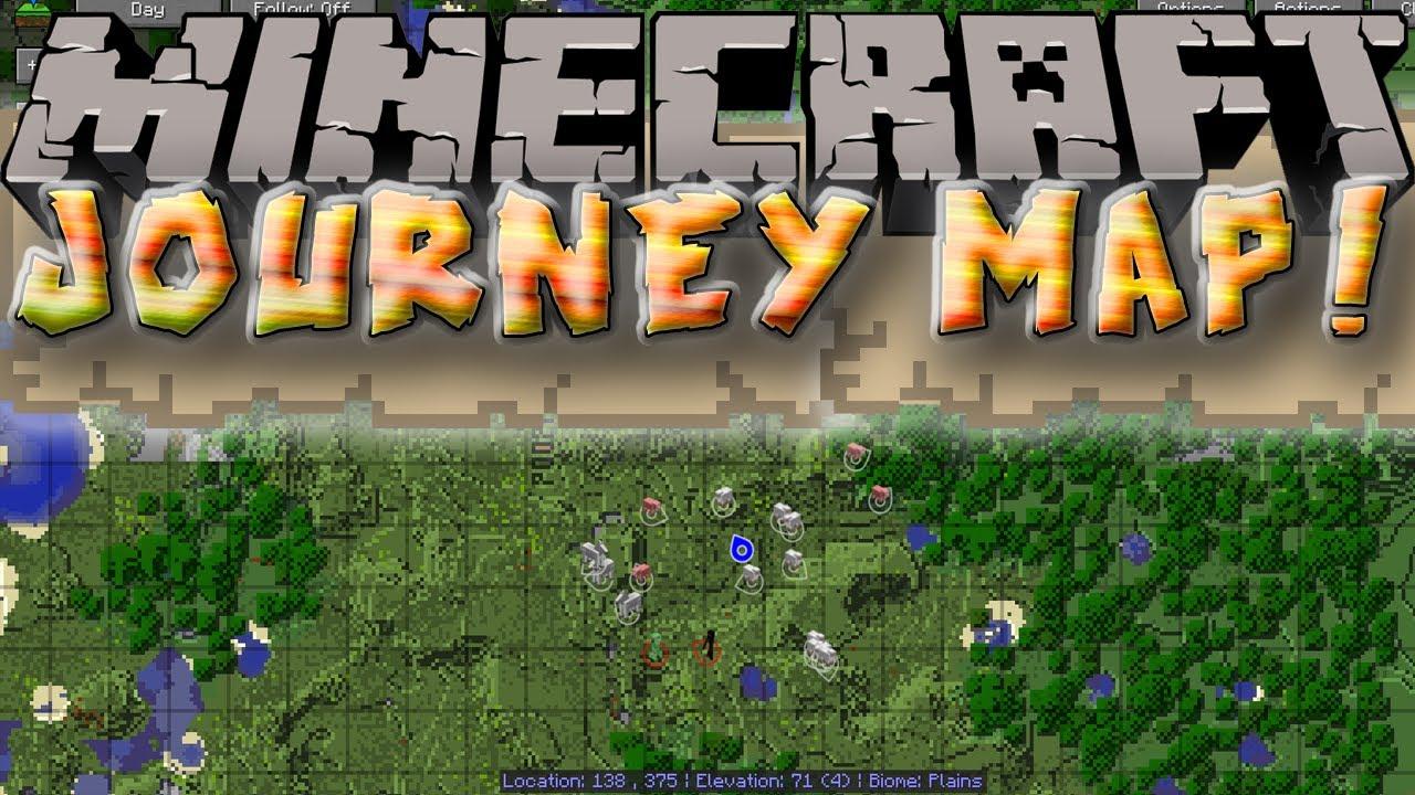 Journey Map Mod JourneyMap Mod for Minecraft 1.12.2/1.11.2 | MinecraftSix