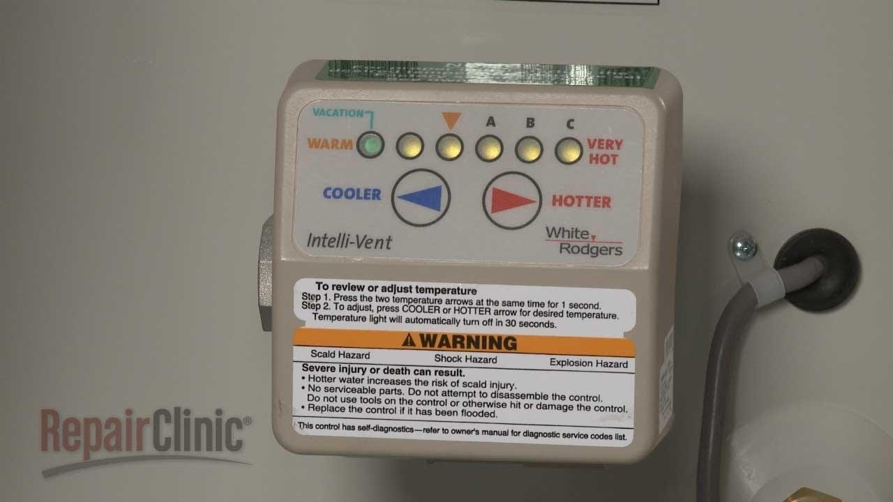 medium resolution of water heater won t heat water gas valve thermostat 9004240005 youtube