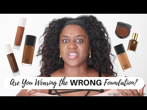 Are You Wearing the WRONG Foundation?  (Fenty, Cover FX, BECCA Demos)