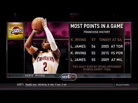 [Ep. 22] Inside The NBA (on TNT) Full Episode – Kryrie Irving scores 57 vs. Spurs - 3-12-15