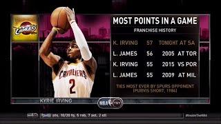 Video [Ep. 22] Inside The NBA (on TNT) Full Episode – Kryrie Irving scores 57 vs. Spurs - 3-12-15 download MP3, 3GP, MP4, WEBM, AVI, FLV November 2017