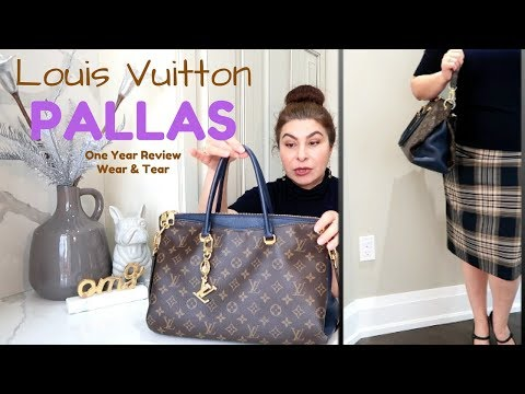 Louis Vuitton Pallas bag One Year Review Oxana LV