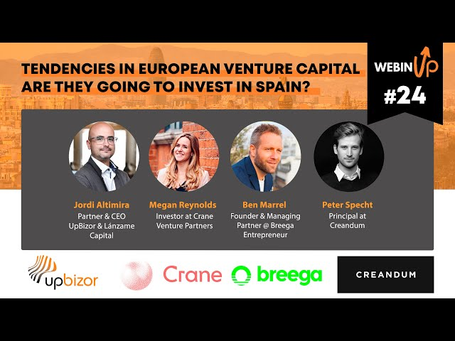 Tendencies in the European Venture Capital - #webinUP 24