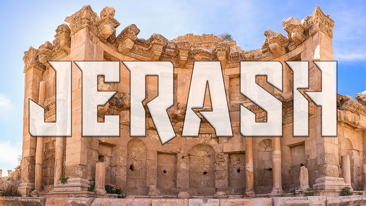 Tour of Jerash - Best Preserved Roman City in the World