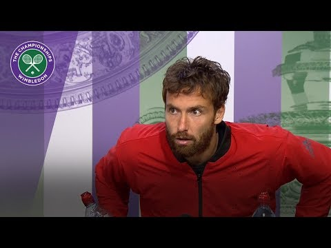 Ernests Gulbis pleased with composure   Wimbledon 2018