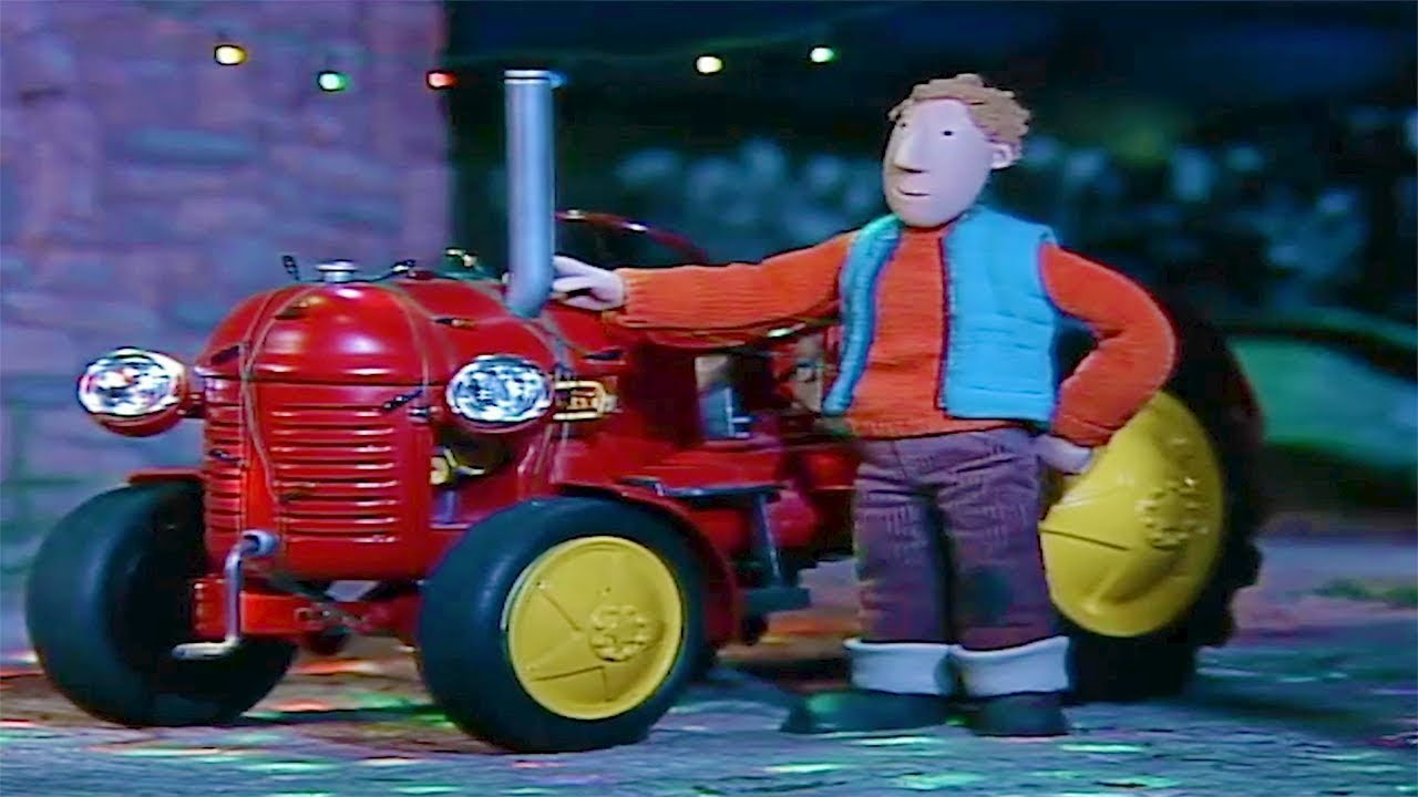 kleiner roter traktor ️🎄lichterketten ️🎄weihnachts spezial