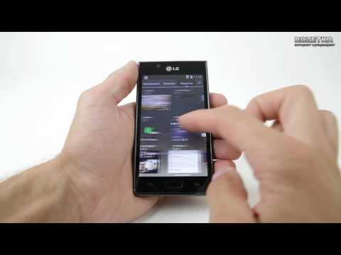 Обзор смартфона LG Optimus L7 P705
