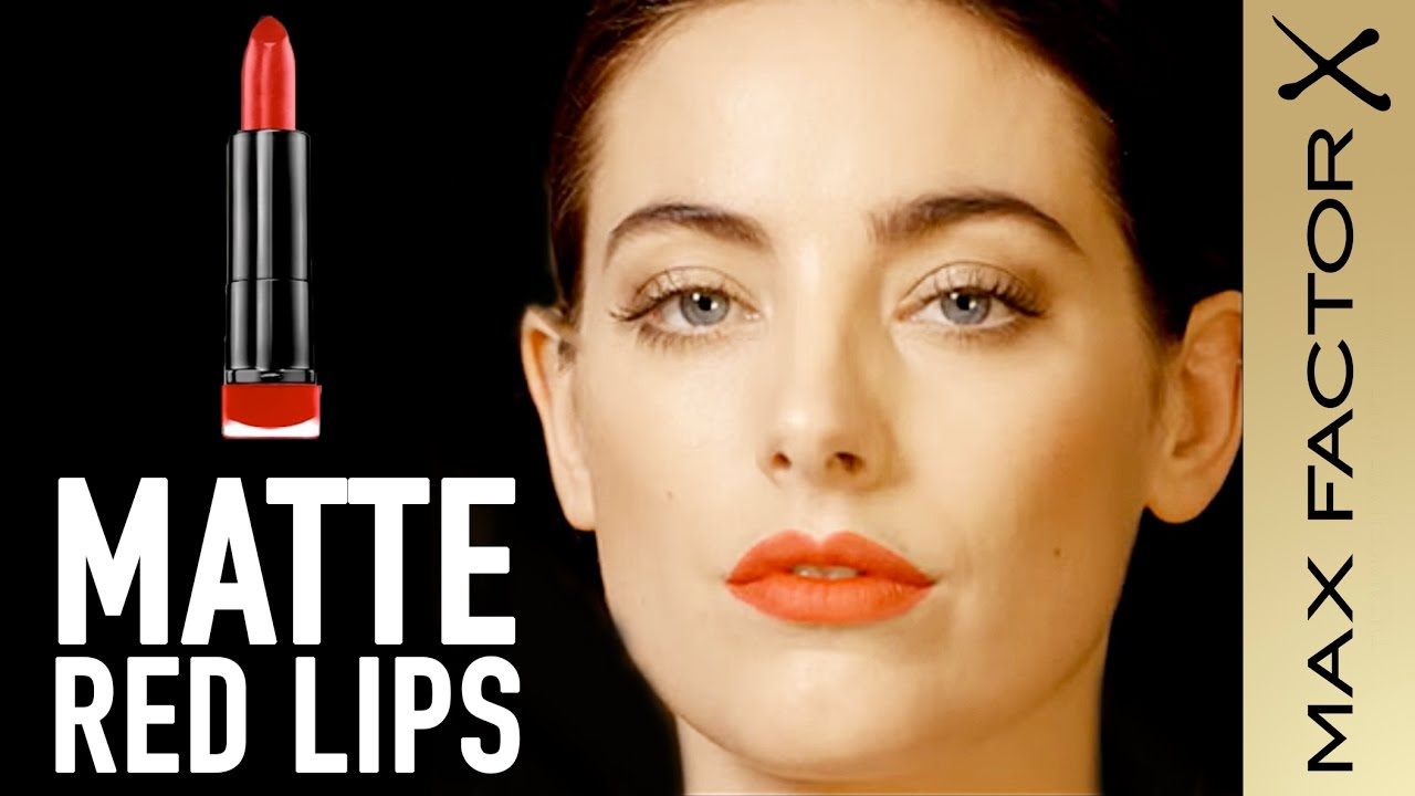 Red Matte Lipstick Tutorial with the Marilyn Monroe ...