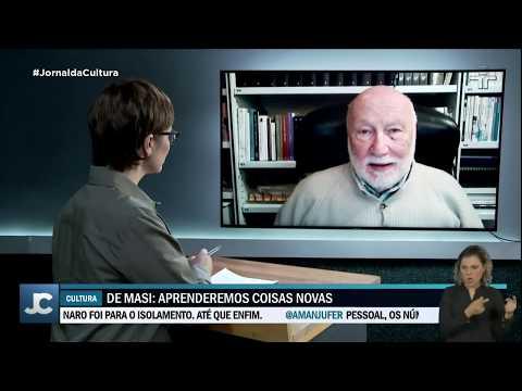 Autor de O Ócio Criativo comenta o isolamento na Itália durante pandemia