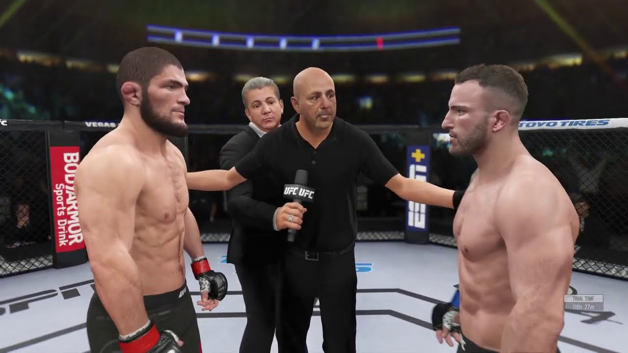 Khabib vs. Alexander Volkanovski - EA Sports UFC 4 - Champions Fight
