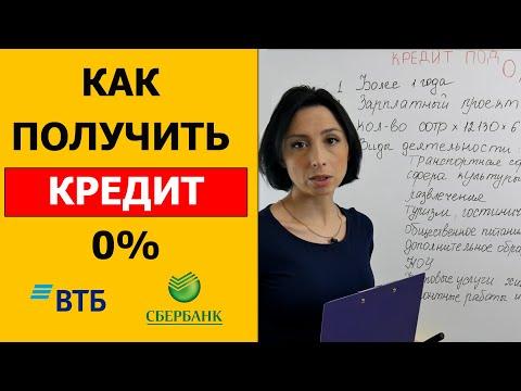 Как получить кредит 0% для малого бизнеса 2020