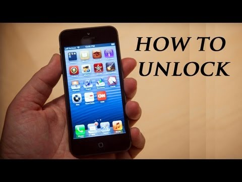 How to Unlock iPhone 5 ATT  Works for all versions
