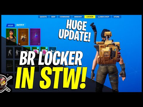 Fortnite Battle Royale COSMETICS In Save The World! This Benefits EVERYONE!