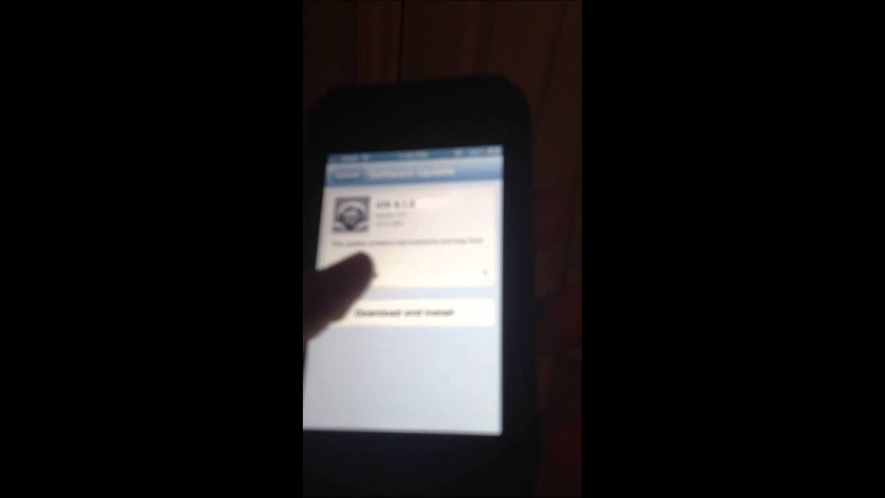 how to upgrade apple iphone 3gs software
